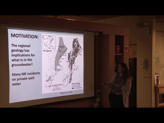 MDI Science Café - Spatial Patterns in Well Water Quality: A View from MDI