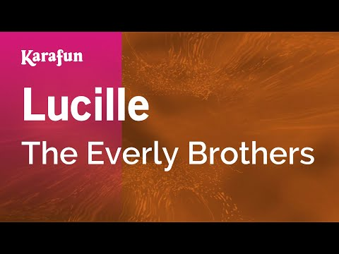 Karaoke Lucille - The Everly Brothers *