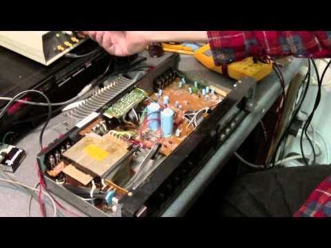 FISHER CA-39A Integrated Stereo Amplifier Repair-Part 2