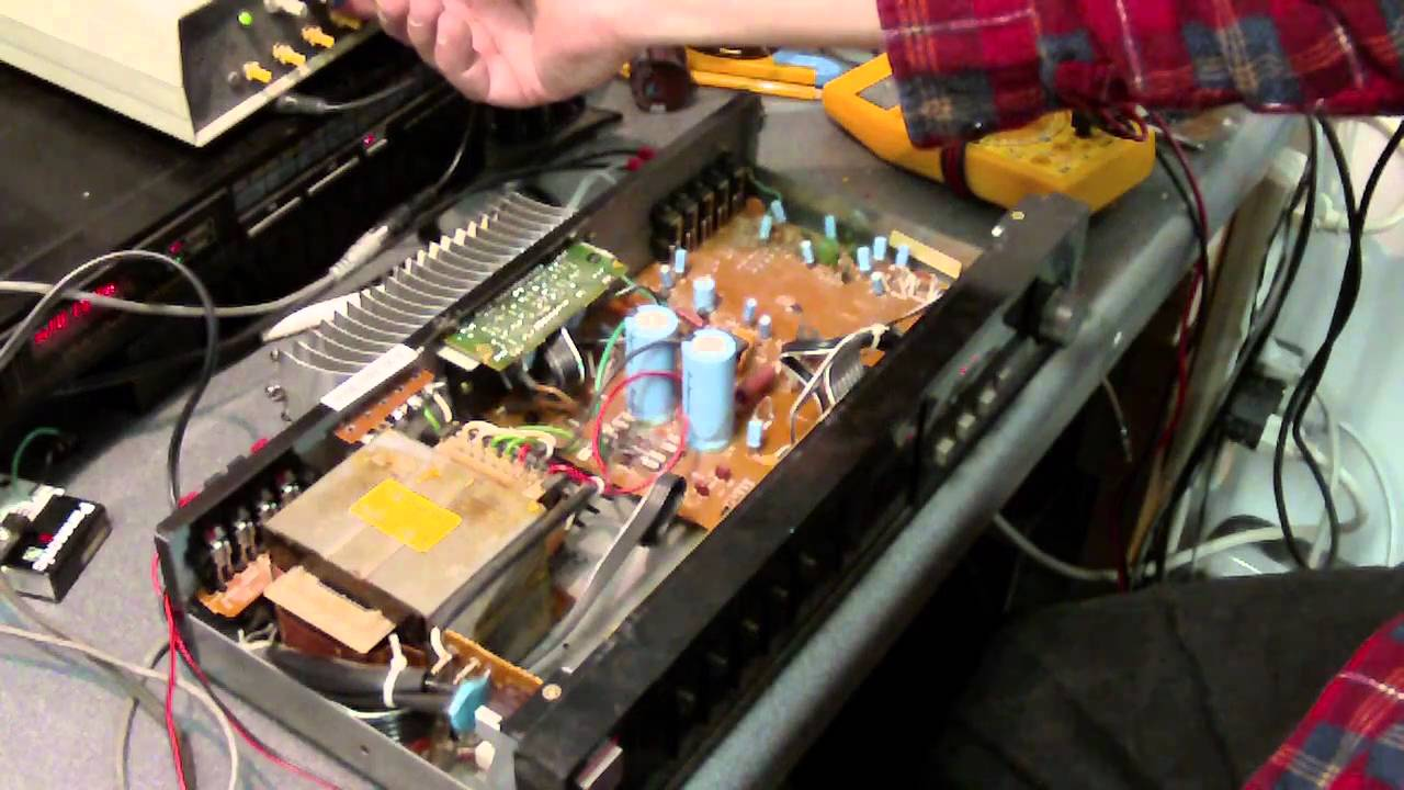 Stereo Audio Amplifier With Ic Tea2024