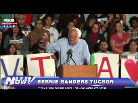 FNN: Full Bernie Sanders in Tucson Speech