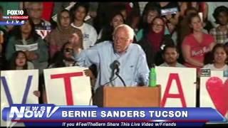 FNN: Full Bernie Sanders in Tucson Speech