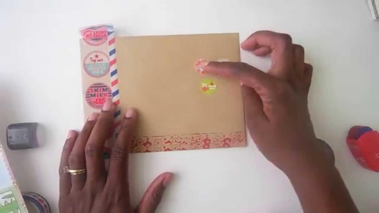 Decorating Your Envelopes