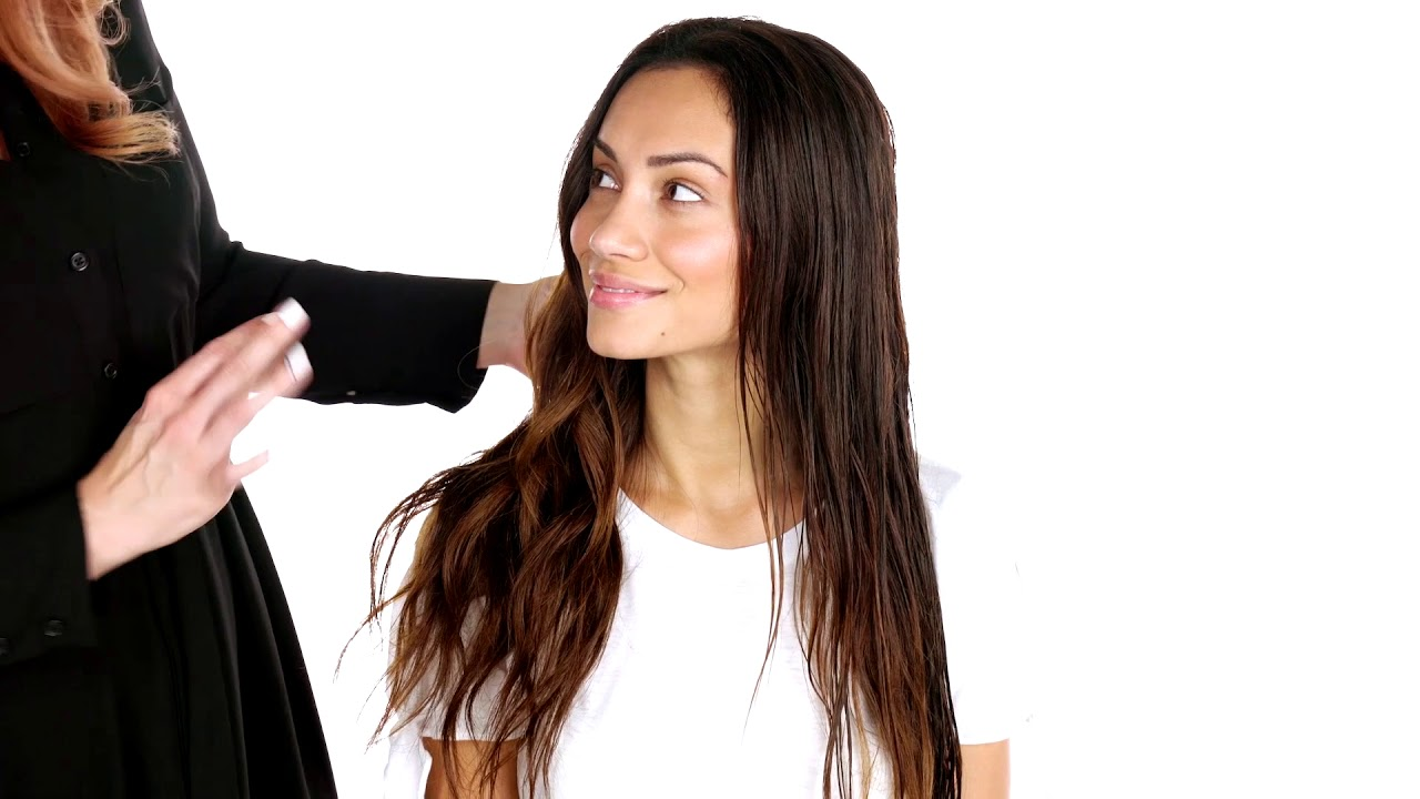 how to naturally style wavy hair hair tutorial paul mitchell
