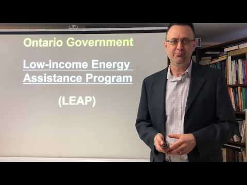 Low-income Energy Assistance Program / LEAP / Facing Disconnection/ Electricity / Ontario Government