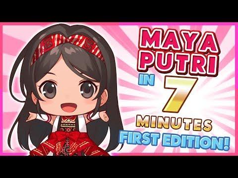 Auto Paham Maya Putri Hanya Dalam 7 Menit [Edisi Tahun Pertama Maya] (Vtuber Indonesia)