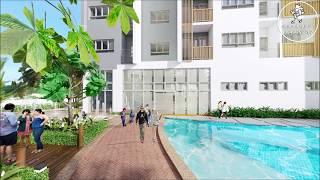 Căn hộ chung cư Biên Hòa Topaz Twins - Thiết kế hồ bơi 3D