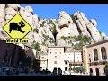 Voyage en Espagne Barcelone Monastère de Montserrat Maryse & Dany © Youtube