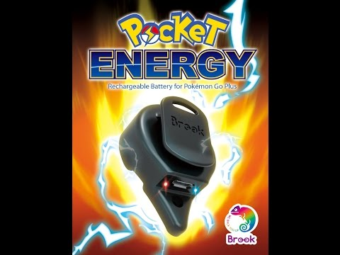 [Brook Gaming]Brook Pocket Energy - Trailer, The EASY way to recharge battery for Pokemon Go Plus.