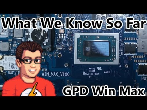 GPD Win Max - What We Know So Far Part 2 - New Details Confirmed!