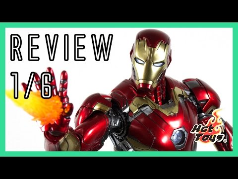 Hot Toys Iron Man Mark 45 XLV Avengers Age of Ultron review 1/6 MMS300D11