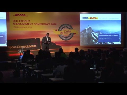 8 digital trends that change ALL industries - Keynote by S. Heilmann during DHL  Conference