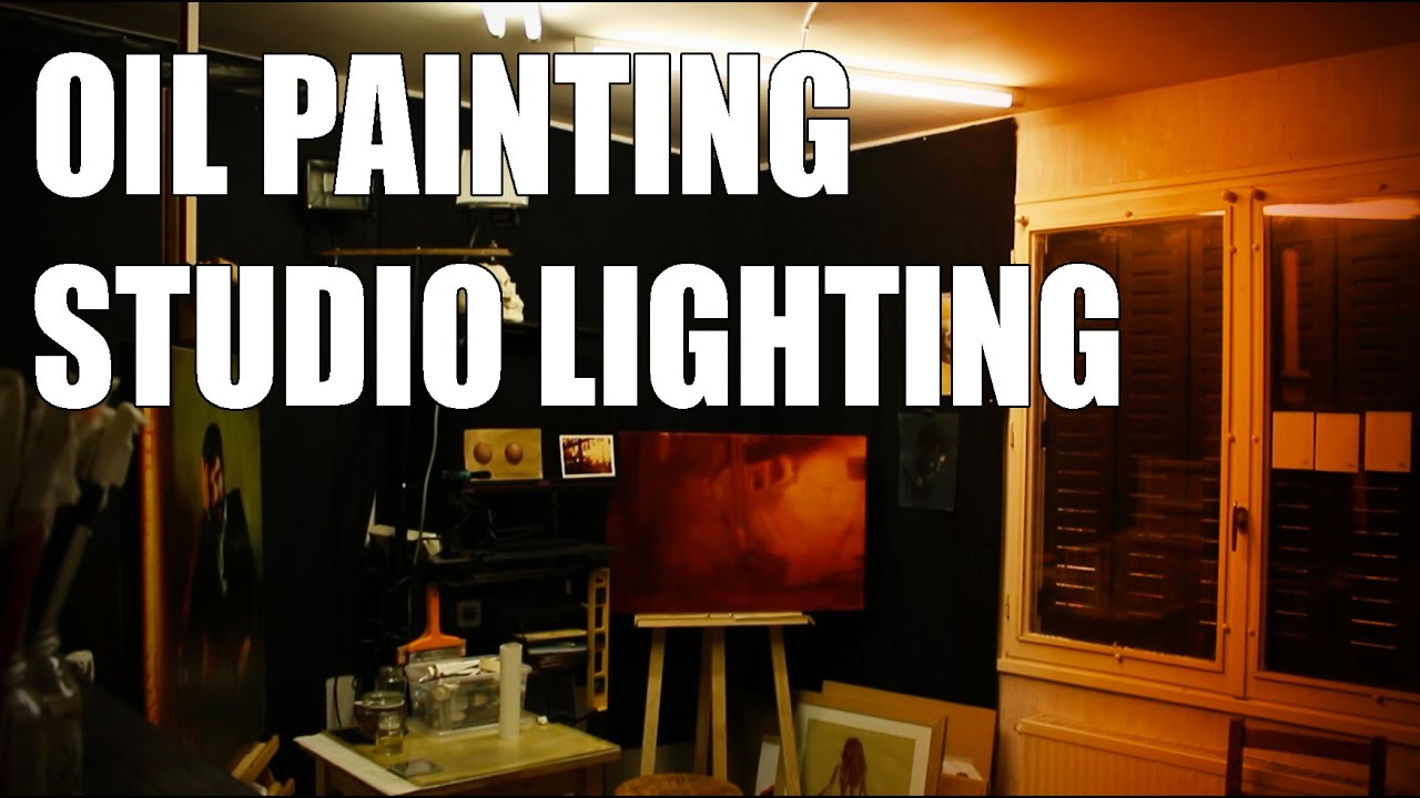 Oil Painting Studio Lighting 10 Tips To Have Good Light Conditions For