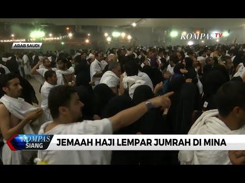 Liputan Haji 2019 - Setelah Wukuf di Padang Arafah, Jemaah Haji Mulai Lakukan Lontar Jumrah