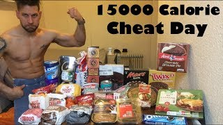 15000 Calorie Challenge - Italiano Cheat Day (ENG SUB)