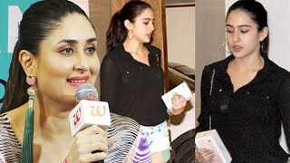 Kareena Kapoors FIRST REACTION on Sara Ali Khans Bollywood DEBUT