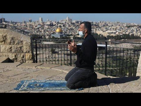 شاهد: إجراءات الإغلاق جراء كورونا تمنع آلاف المقدسيين من الصلاة في المسجد الأقصى