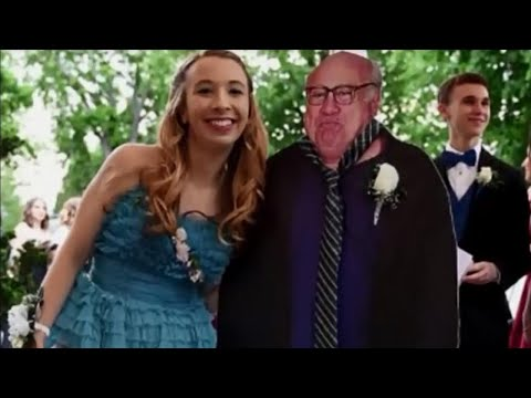 Teen Takes Danny DeVito Cardboard Cutout to Her Prom in Pennsylvania
