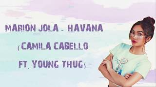 Marion Jola - Havana (Camila Cabello Ft Young Thug) | Indonesian Idol 2018