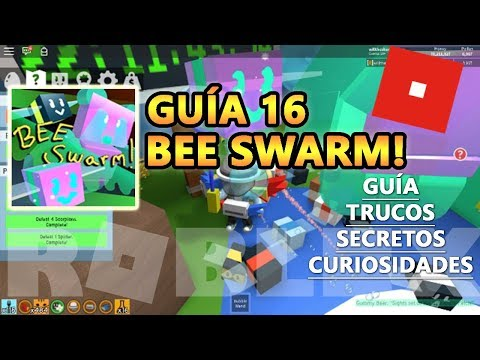 Bee Swarm Simulator, Nueva Abeja Gummy Bee Chicle, Gumdrop y el GOO, Roblox Español Guía Tutorial 16