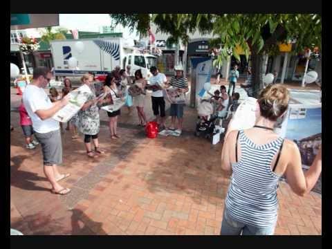 Bay of Plenty Times Weekend Flash Mob