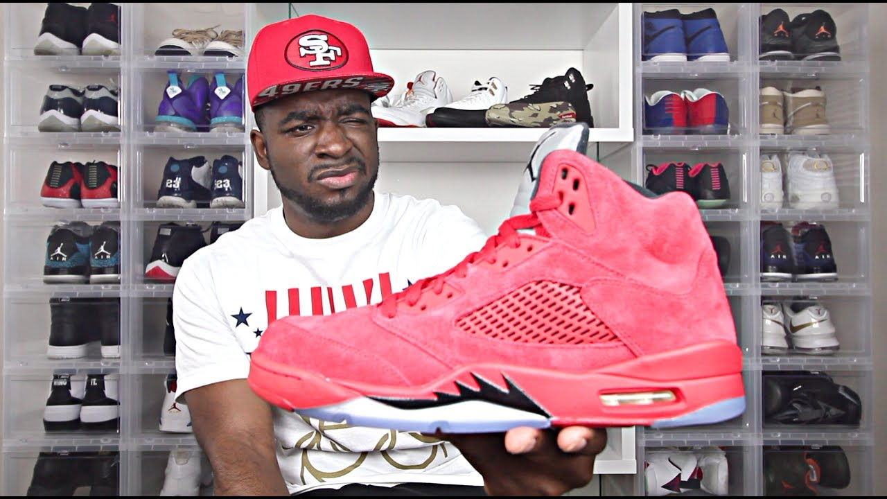 8c37bf421bc4 Honest Truth about Jordan 5 Red Suede Review!!! - YouTube