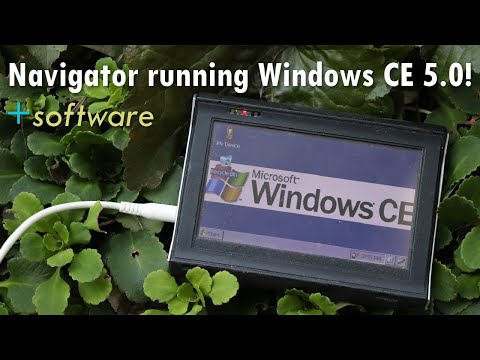Navigator Running Windows CE 5.0 - Music And Video Playback