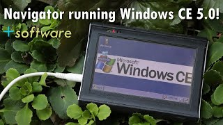Navigator running Windows CE 5.0 - Music and video playback