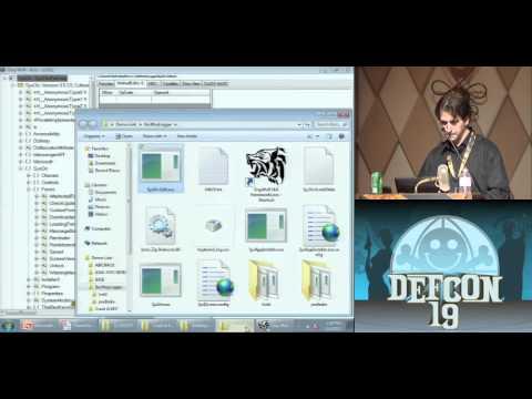 DEFCON 19 (2011) - Hacking .NET Applications: The Black Arts