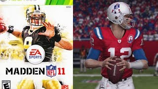 TOM BRADY AND HIS BALLS - MADDEN 11 MADDEN MOMENTS PART1