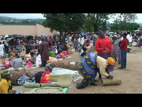 Swaziland le marché africain de Manzini