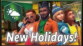 ما عرف العطل الذي جعل لكم ؟ | لعبة The Sims 4: مواسم
