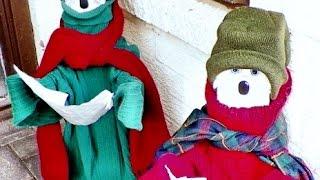 Make Adorable Christmas Caroler Decorations - Diy Home - Guidecentral