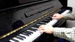 Only one road by Celine Dion piano