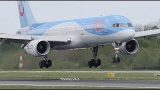 Wobble landing gear Boeing 757
