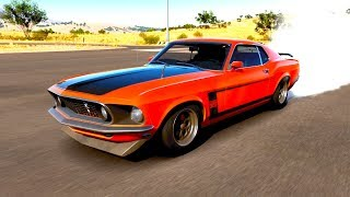 Forza Horizon 3 - Desafiei o Zoio com um Mustang! (DESAFIO DOS ANOS 60)