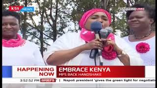 Women leaders hold rally in Baringo