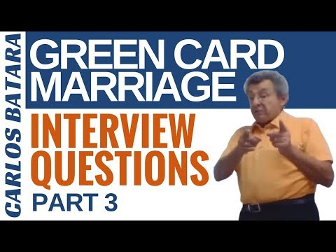 Your Green Card Marriage Interview: 12 Questions You Must