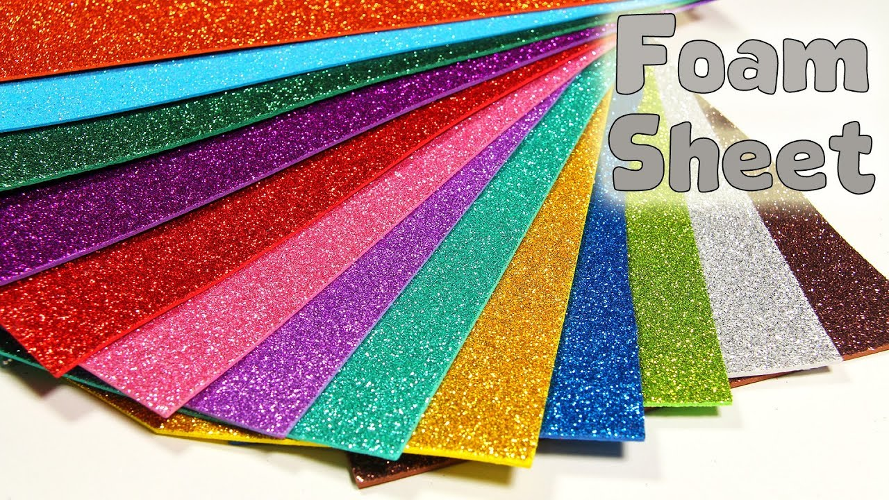 Varieties and Applications of Convoluted Foam Sheets