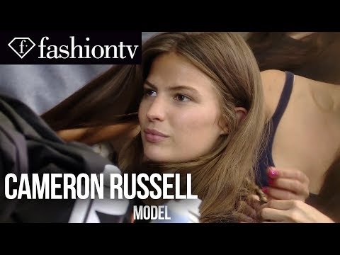 Cameron Russell - Top Model | Spring/Summer 2014 Fashion Week | FashionTV