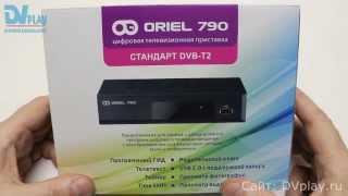 Oriel 790 - обзор DVB-T2 ресивера
