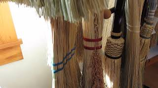 Zodi Brooms at The Lupine Cottage