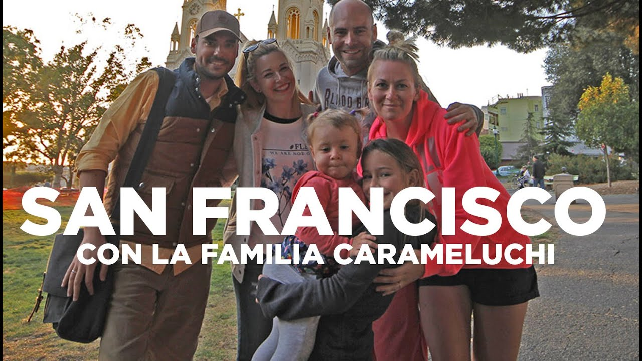 Familia carameluchi y Molaviajar juntos en San Francisco