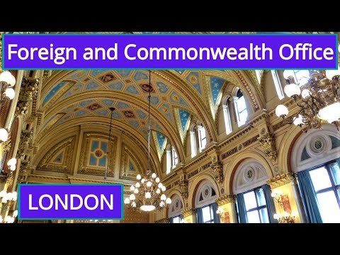 Foreign and commonwealth office (London, UK)