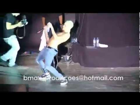 Chris Brown dança Kuduro em Luanda YouTube