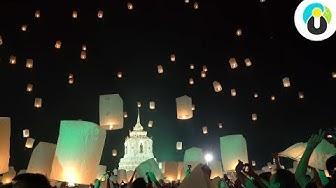 THAILAND 🏮😍 So KRASS ist das Lichterfest in Chiang Mai 😱🏮 | Guru on Tour