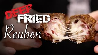 DIY Deep Fried Reuben