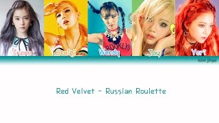 Red Velvet (레드벨벳) – Russian Roulette (러시안 룰렛) Lyrics (Han|Rom|Eng|Color Coded) MP3