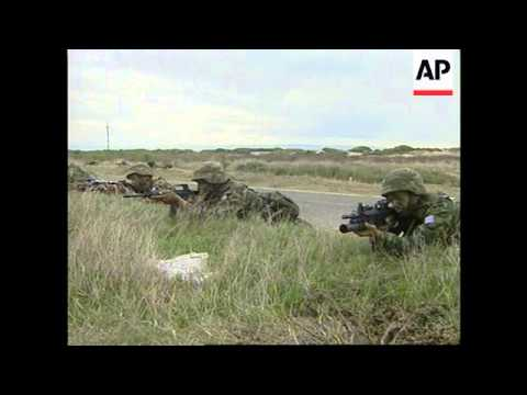 TURKEY: GREEK TROOPS ARRIVE FOR NATO EXERCISE