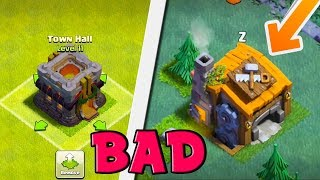 5 WORST Updates In Clash of Clans HISTORY